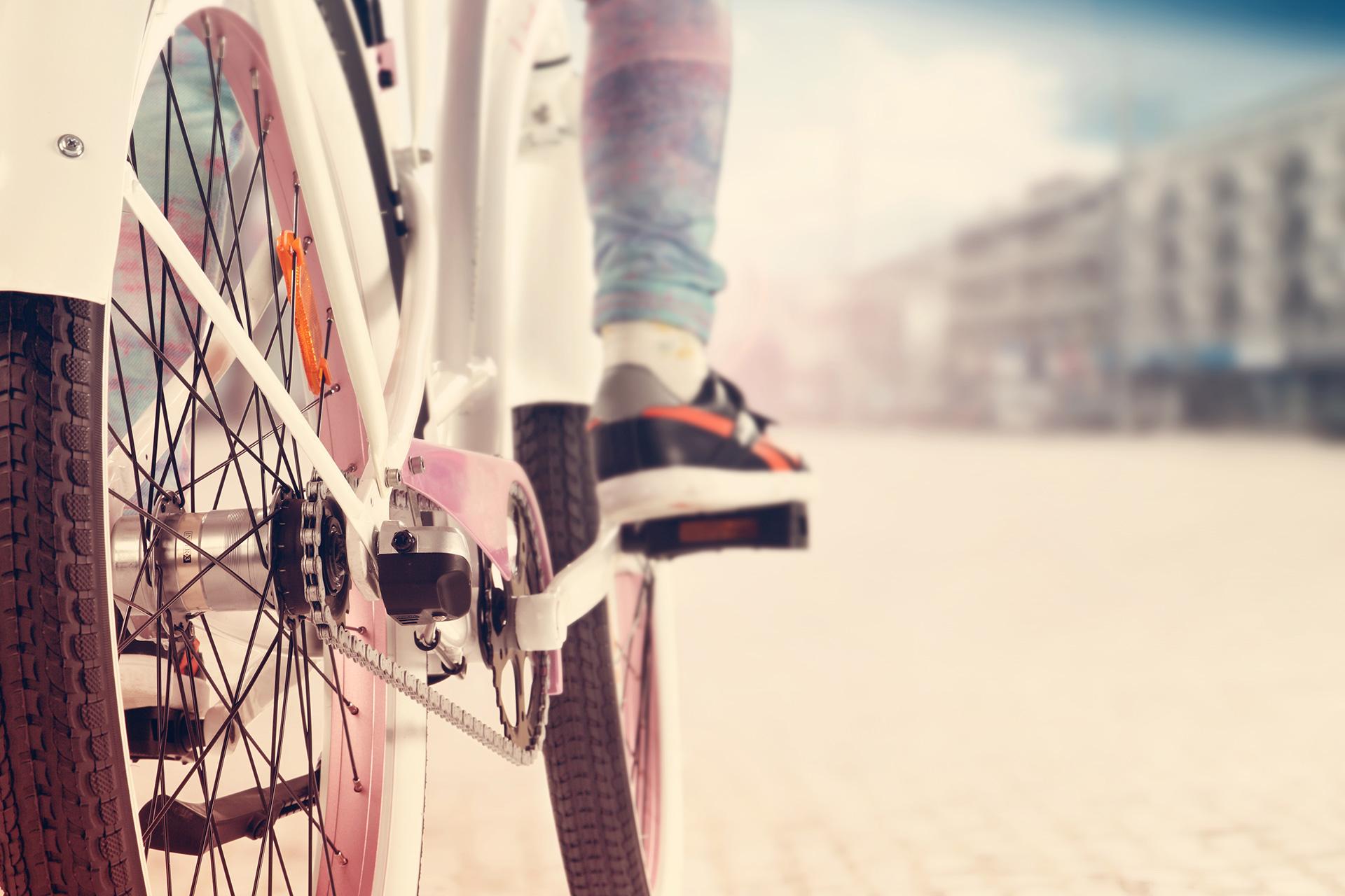 En lang cykeltur